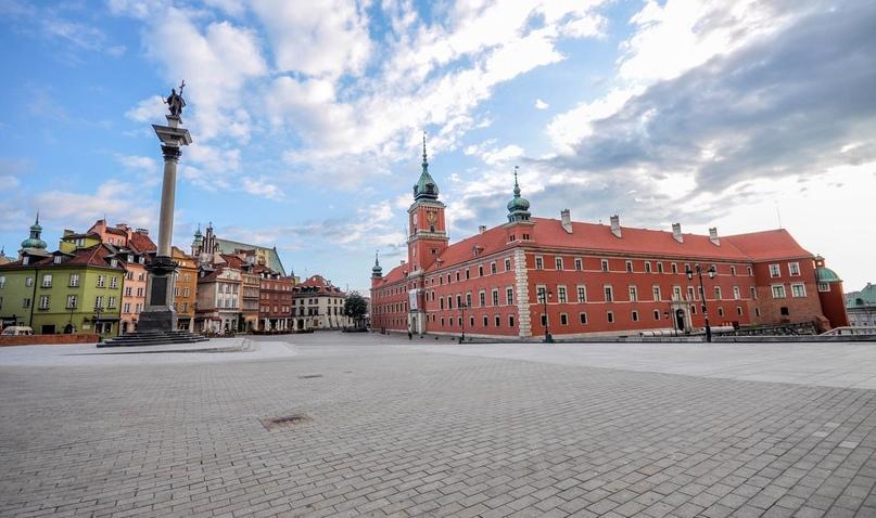 Дворцовая площадь Варшавы