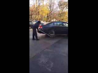 Ручной гидравлический автомобильный мотор