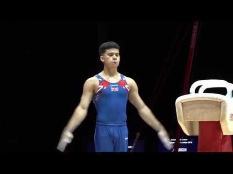 REPLAY 2018 Junior men's European Championships event finals Glasgow GBR