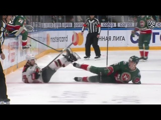 KHL Top 10 Hits for 2021 Gagarin Cup Conference Finals
