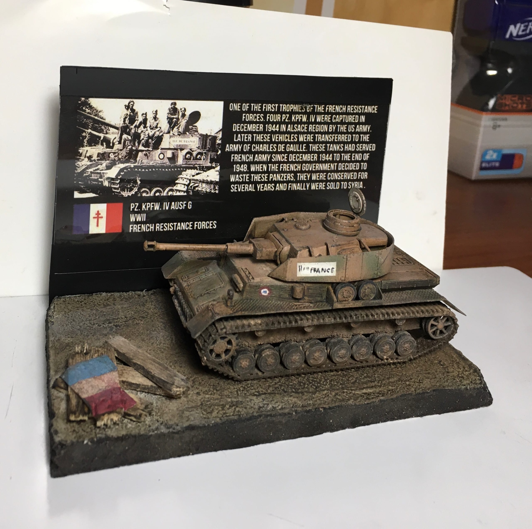 Pz. kpfw. IV French Resistance