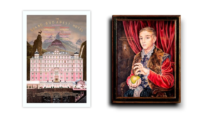 THE GRAND BUDAPEST HOTEL PAINTING BOY WITH APPLE FROM FILM Картина из фильма Отель Гранд Будапешт