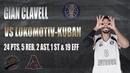 Gian CLAVELL vs. Lokomotiv Kuban – 24 PTS, 5 REB, 2 AST, 1 ST 19 EFF [15/11/2020]