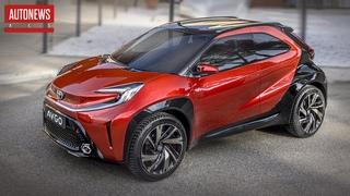 Toyota AYGO X prologue: новый субкомпактный кроссовер?