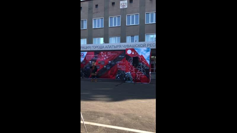 Памяти подвигу строителей Сурского и Казанского оборонительного рубежа в Алатыре