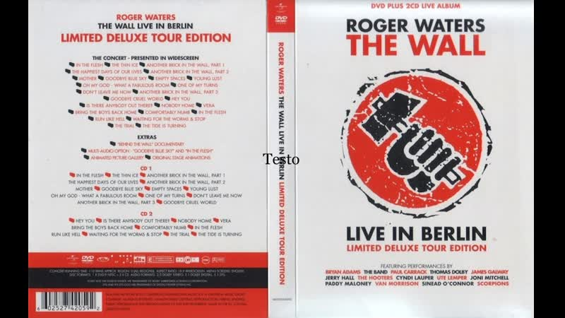 Rick Di Fonzo and Snowy White Is There Anybody Out There The Wall Live in Berlin 1990