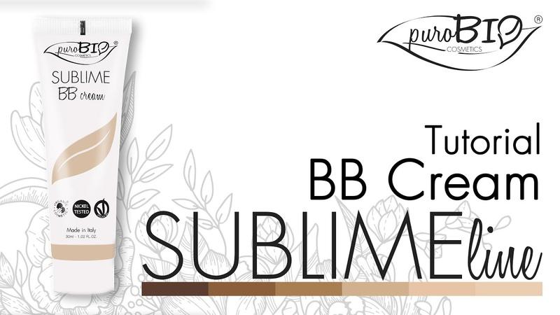 Tutorial SUBLIME BB Cream - puroBIO cosmetics (ENG subtitle) (FR sous-titres)