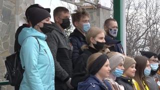 В Первомайском состоялся песенный флешмоб ко Дню Победы