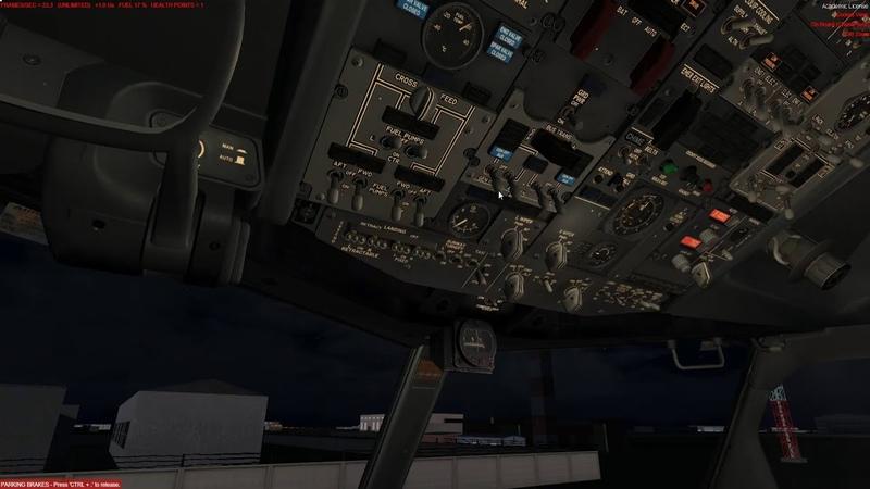 PREPAR 3D v4.5 Boeing 737 800SKY DREAM Снова в строю ПОЛЁТ ОНЛАЙН Екатеринбург Новосибирск