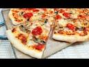 Домашняя пицца с грибами сыром Это Лучшее тесто для пиццы Очень простой рецепт