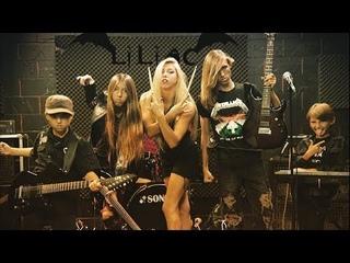 Leos в ШОКЕ от вокала 16-летней девочки   LILIAC - Enter Sandman, Crazy Train   Семейная группа