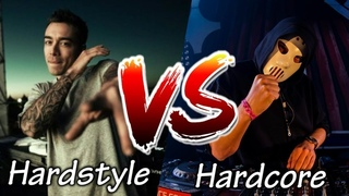 HARDSTYLE VS HARDCORE #1