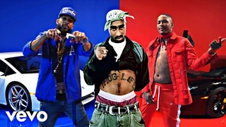 2Pac, Nipsey Hussle, YG - FTP (Official Video)