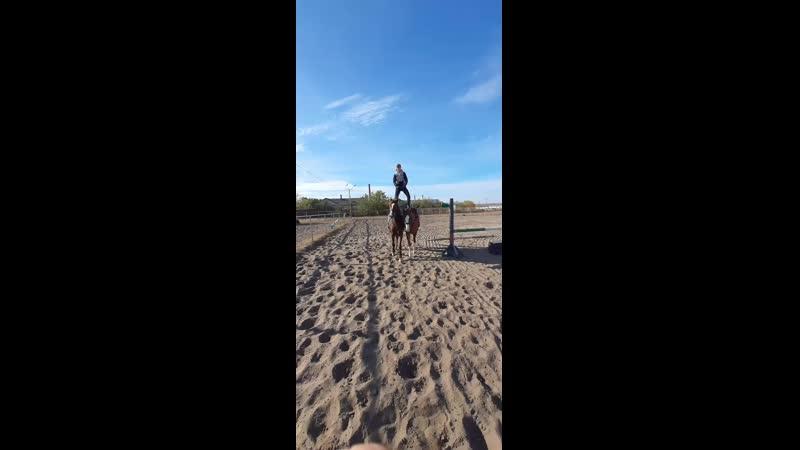 Аланская езда mp4
