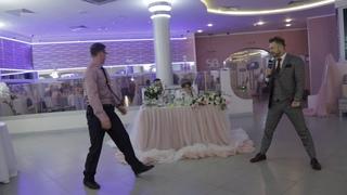 Пауэрлифтинг на свадьбе в СПб)) Алексей Пашин - ведущий??