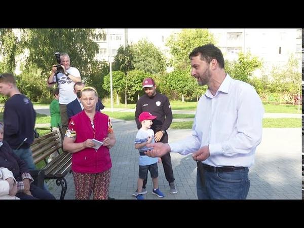 Глава Раменского г о Виктор Неволин встретился с местными жителями ТУ Кузнецовское