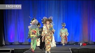 KIMONO FASHION SHOW 2019 Mamechiyo Mieko Ueda Anime North Canada - Fashion Channel