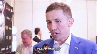 """Геннадий Головкин: """"Как я выиграю у Мартиросяна? Не знаю. Никто не знает"""""""