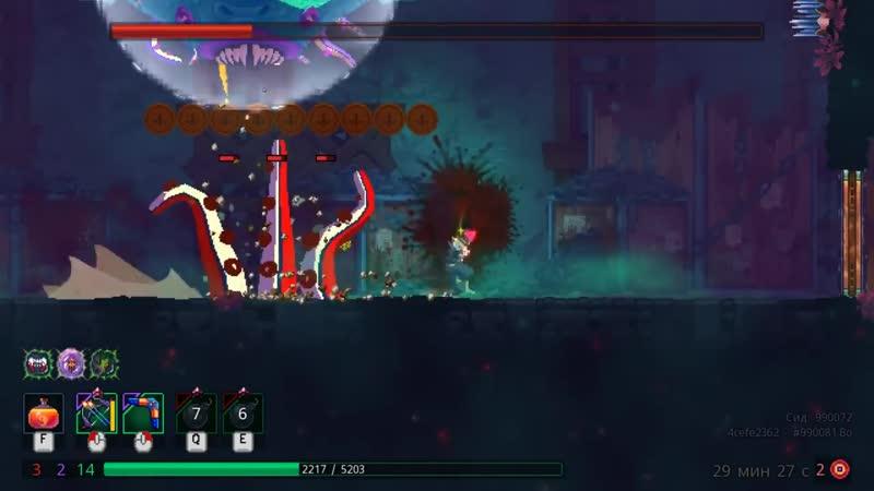 Leomi Гигант новый босс Пещера и логово стражника Dead Cells rise of the giant DLC ► 39 серия