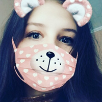 Фотография страницы Вики Чуприной ВКонтакте