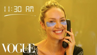 How Top Model Candice Swanepoel Gets Runway Ready   Diary of a Model   Vogue