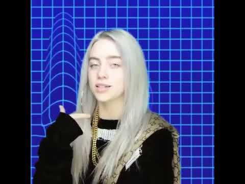 Billie eilish aesthetic | f*ck you f*ckers