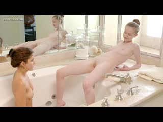 Emily Bloom & Serena L Shaving, Douching And Cucumber Cleansing