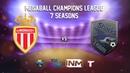 MCL 7. 5 Tour. ASM AS Monaco vs Sharks Team (Messi Group)