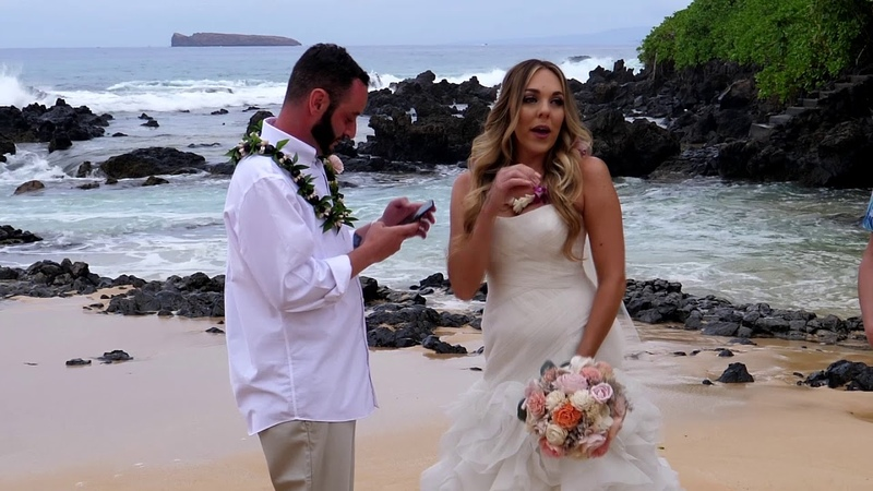 Just Maui'd Our Wedding Video West Coast Goodz West Coast Gemz ❤