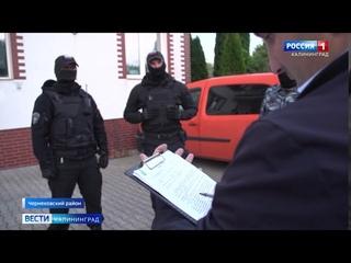 В Черняховском районе полицейские искали пропавшее стадо коров, а нашли оружие и наркотики