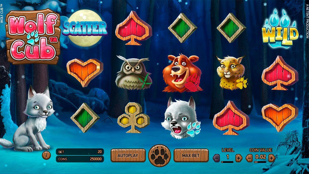 Новый слот Wolf Cub в казино Вулкан Вегас