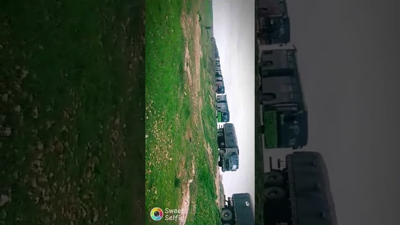 SYRIAN ARMY'S 148TH BRIGADE REINFORCEMENTS HEADING TO RAQQA PROVINCE TO PREVENT TURKISH AGGRESSION