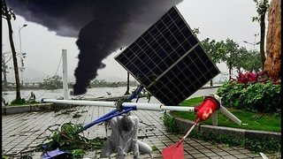 CHINA under a TORNADO Blows! Strongest in a decade in Shenxian, Shandong province