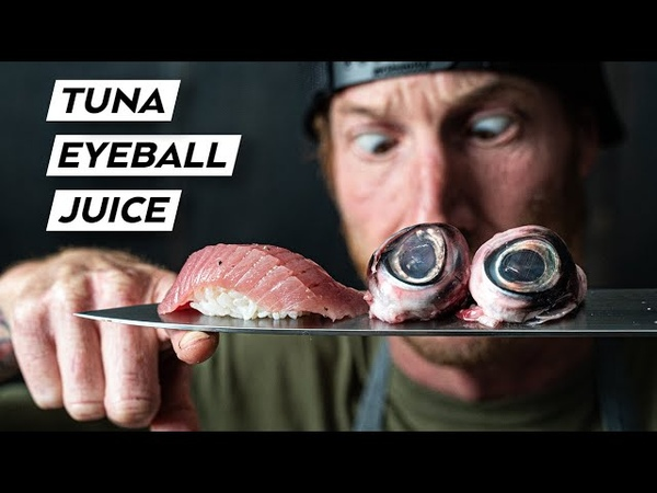 How to Cook TUNA EYEBALLS for an EPIC SAUCE