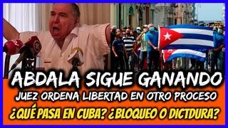 ABDALA SIGUE GANANDO Juez ordena libertad en otro proceso