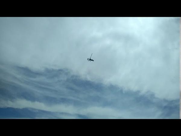 Первый полёт Крымского Автожира Грифон