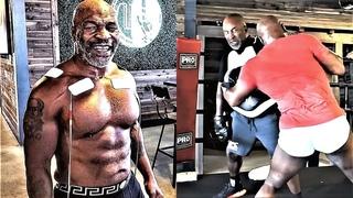 [2020] Тренировка Майка Тайсона в 53 года! Невероятная скорость/ Training Motivation!