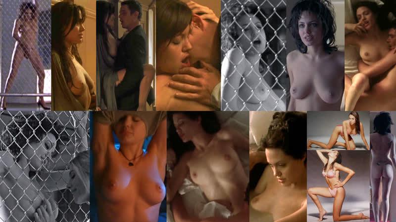 Голая Angelina Jolie (Анджелина Джоли). Знаменитость и секс. Сиськи