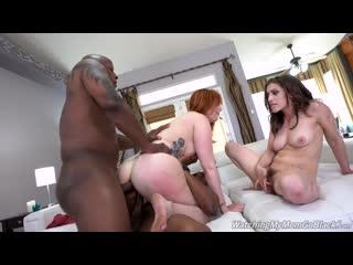 Lauren Phillips - Two Big Black Cock - Porno, DP, Anal, IR, ATM, MILF, Redhead, Big Booty Big Tits Cougars Creampie, Porn, Порно