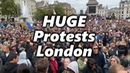 HUGE London Protests Live: Police Furious