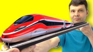 🌑 Поезд на магнитах не тратит энергию при движении! Невероятно почти вечный двигатель Игорь Белецкий