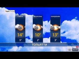 Погода в Самарской области 24– 26 апреля