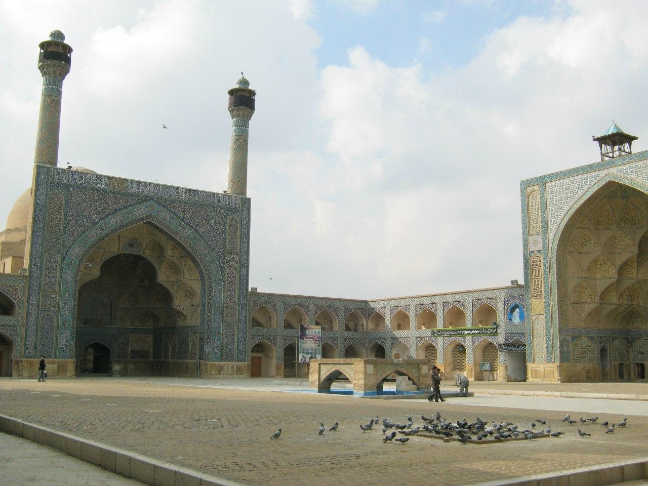 Мечеть Джаме в Исфахане
