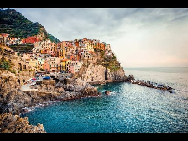 Манарола Италия Manarola Italy 4K Ultra HD