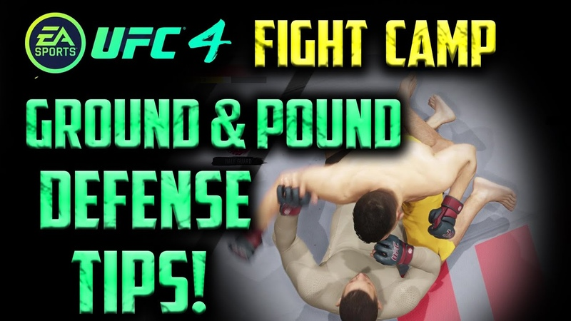 EA UFC 4 HOW TO SURVIVE THE NEW GROUND AND POUND SYSTEM!