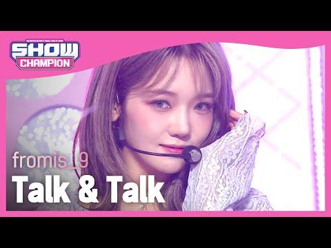 COMEBACK fromis 9 Talk Talk 프로미스나인 톡 톡 Show Champion EP 408