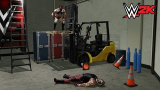 Badass Moments In WWE 2K (Ultimate Compilation)