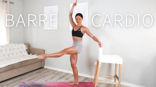35 MIN FULL BODY BARRE CARDIO    🤍 Day 2: Move With Me Series