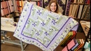 Such an Easy Modification Let's Make a Pinwheel Rail Fence Florentina Rose Quilt Giveaway
