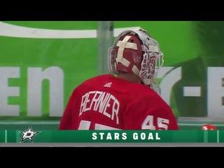 Denis Gurianov assists on Jamie Oleksiak's goal vs Red Wings (2021)